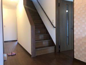 陽なたハウスC館の階段